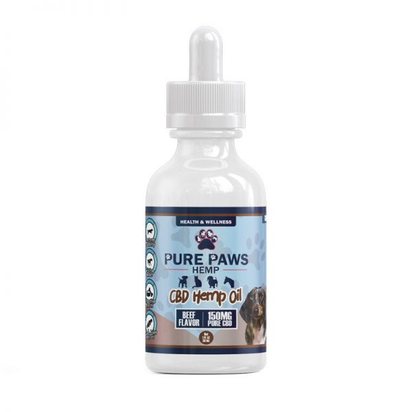 150mg Beef CBD Oil for Pets