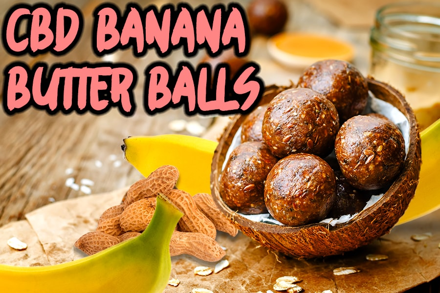 cbd banana butter balls dog treat recipes blog