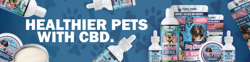 Healthier pets with CBD pure paws hemp bundle products