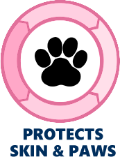 pure paws hemp protects skin and paws icon