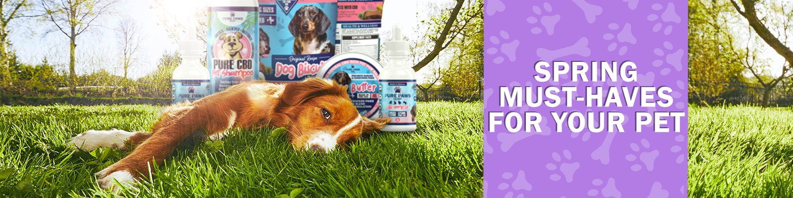 Pure Paws Hemp pet products you need this spring