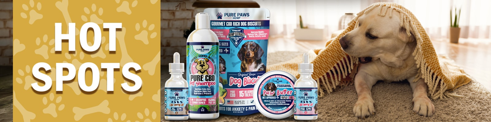 CBD For Hot Spots on Dogs Moist Dermatitis